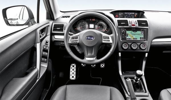 Subaru Forester 2013 salpicadero