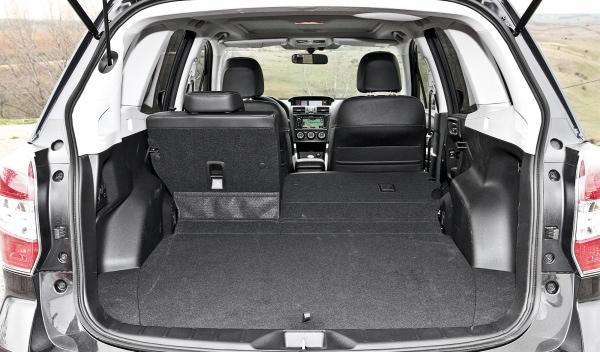 Subaru Forester 2013 maletero