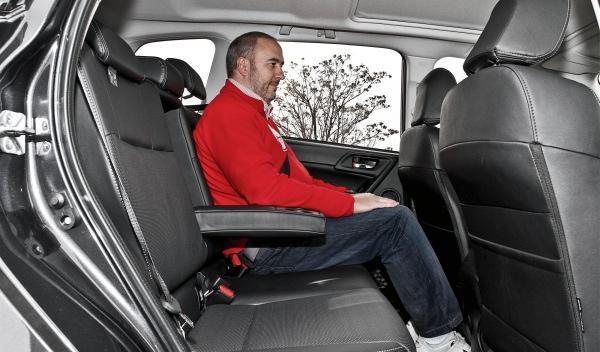 Subaru Forester 2013 plazas traseras