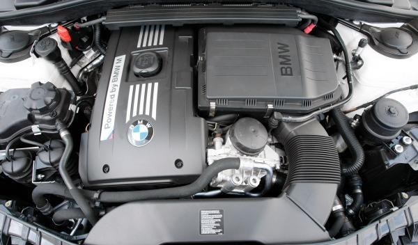 BMW Serie 1M Coupé motor