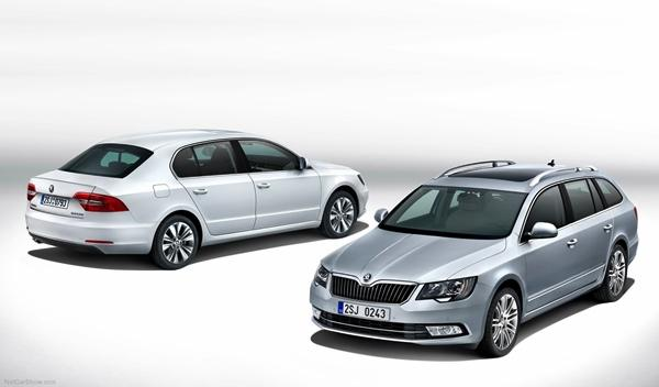 Skoda Superb 2013 berlina y combi