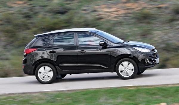 Hyundai ix35 CRDI 136 dinámica lateral