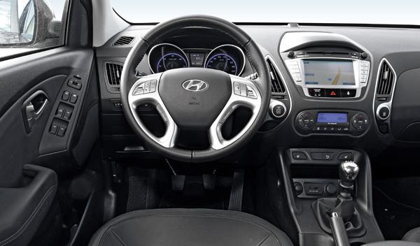 Hyundai ix35 CRDI 136 interior salpicadero