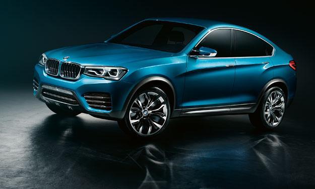 BMW Concept X4 Shangai