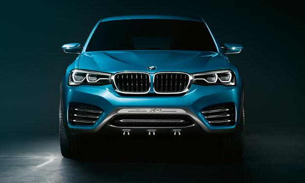 BMW Concept X4 frontal