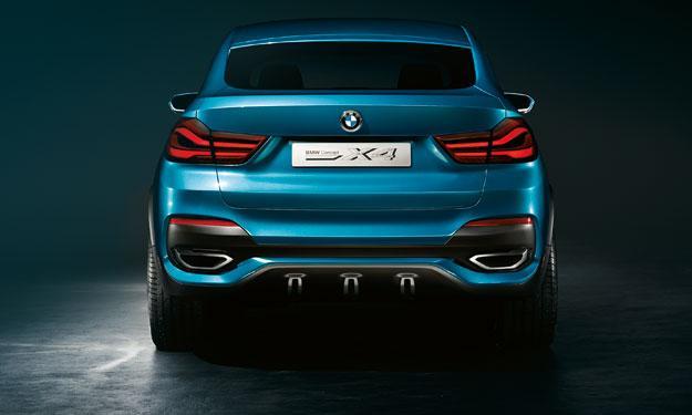 BMW Concept X4 zaga