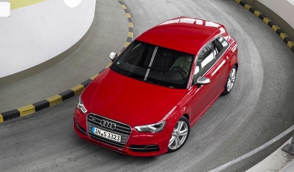 Audi S3 2013 aerea