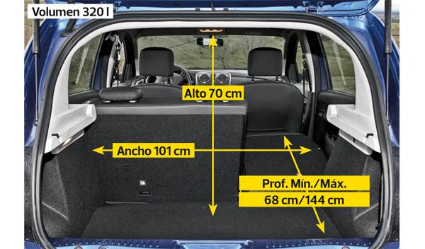 Dacia Sandero dCi 90 Laureate maletero