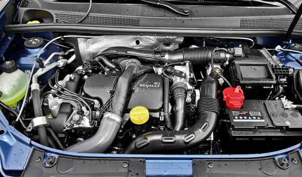 Dacia Sandero dCi 90 Laureate motor