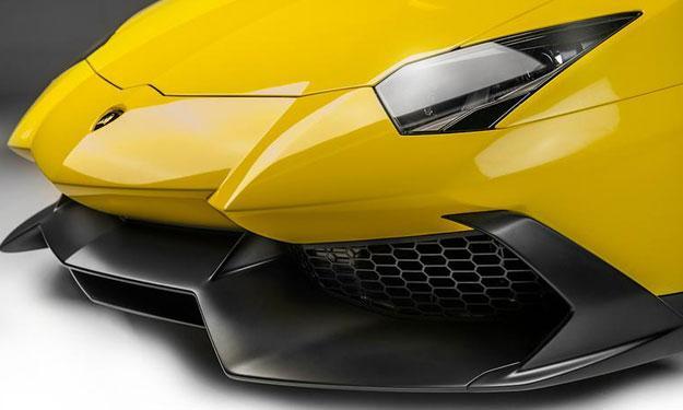 Lamborghini Aventador LP720-4 50 Aniversario aerodinamica