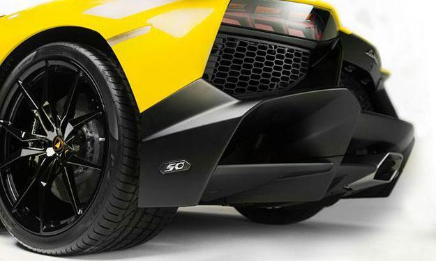 Lamborghini Aventador LP720-4 50 Aniversario zaga