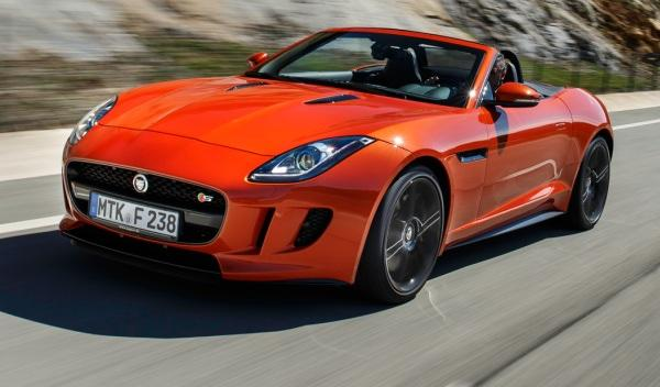 Delantera del Jaguar F-Type