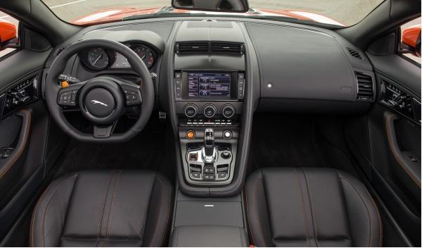 Interior del Jaguar F-Type