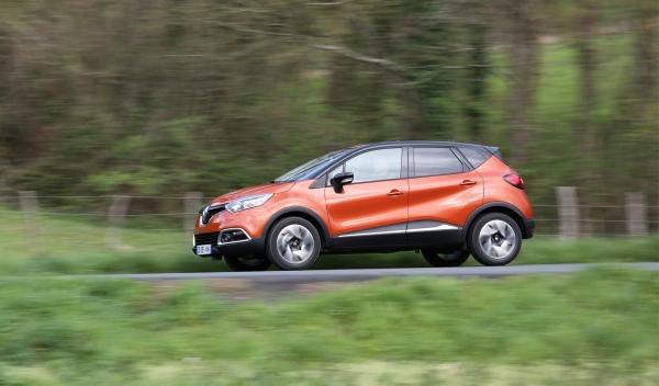 Renault Captur perfil