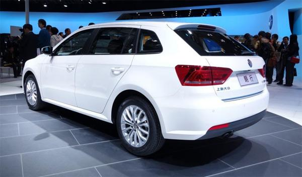 Volkswagen Gran Lavida Salón de Shanghai 2013