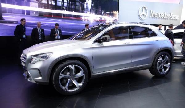 Mercedes-GLA-Concept Salón Shanghai 2013