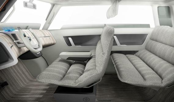 Toyota ME.WE Concept interior