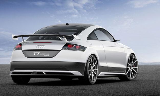 Audi TT ultra quattro concept motor