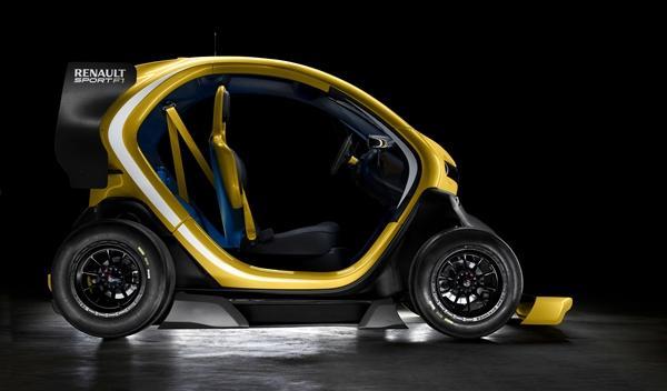 Renault Twizy Renault Sport F1 perfil