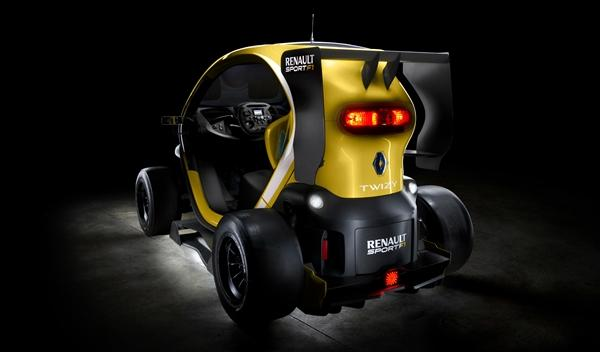 Renault Twizy Renault Sport F1 trasera
