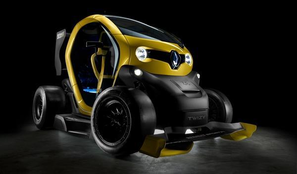 Renault Twizy Renault Sport F1 tres_cuartos