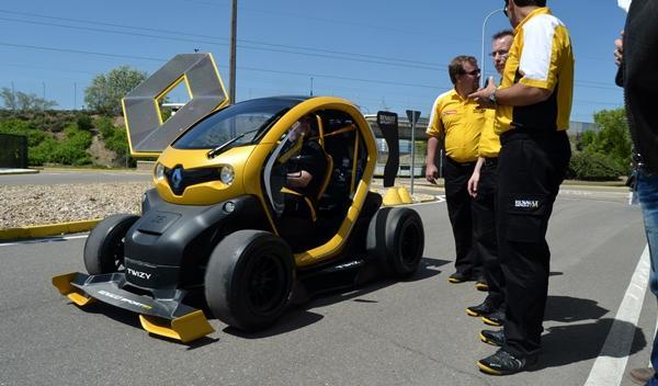 Renault Twizy Renault Sport F1 ingenieros