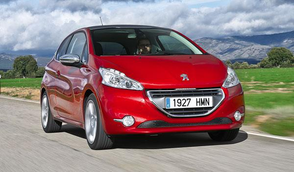 Peugeot 208 THP frontal