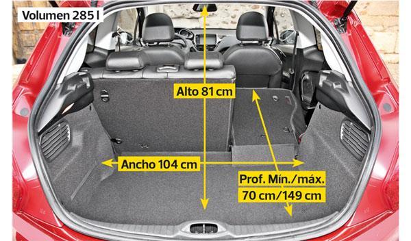 Peugeot 208 THP maletero