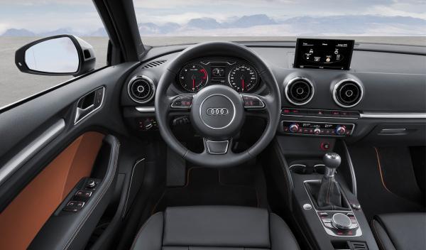 A3 Sedan interior conductor