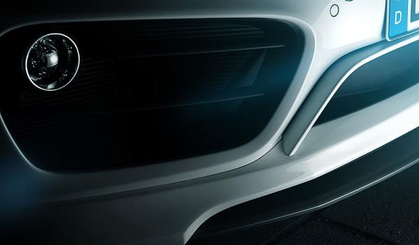 Porsche Cayman TechArt forntal detalle
