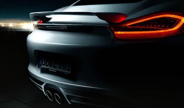 Porsche Cayman TechArt trasera detalle