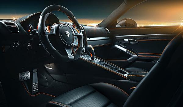 Porsche Cayman TechArt interior conductor