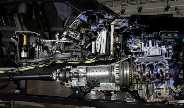 nuevo Range Rover Sport transmisión
