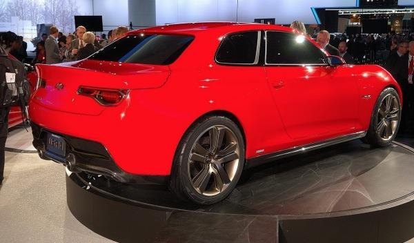 Chevrolet Code 130R Concept trasera
