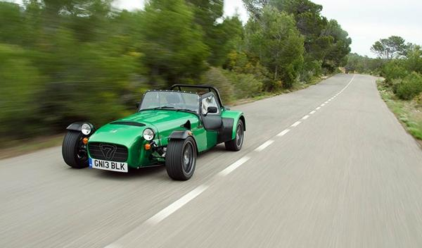 Caterham Seven 485 S frontal