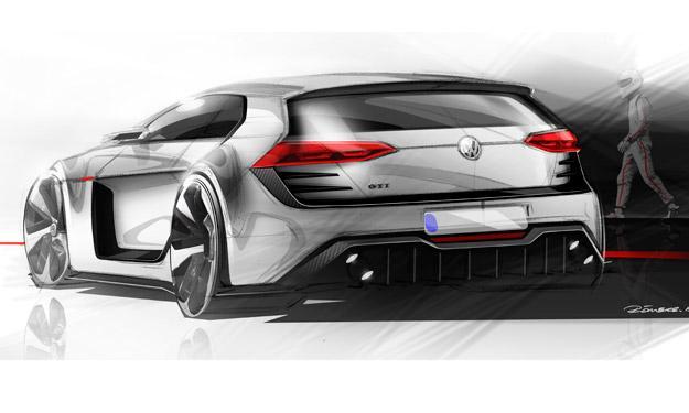 Volkswagen GTI Vision Design potencia