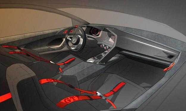 Volkswagen GTI Vision Design interior