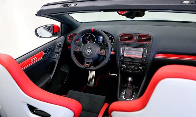 Volkswagen Golf GTI Cabrio Austria interior