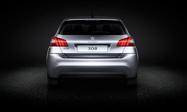 Peugeot 308 2013 LED ópticas traseras