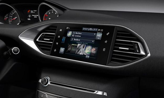 Peugeot 308 2013 LED pantalla