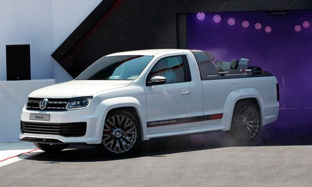 Volkswagen Amarok Power-Pickup motor