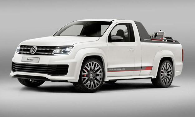 Volkswagen Amarok Power-Pickup llantas