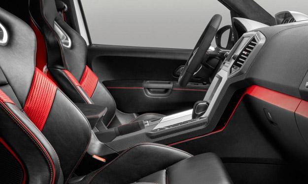 Volkswagen Amarok Power-Pickup asientos
