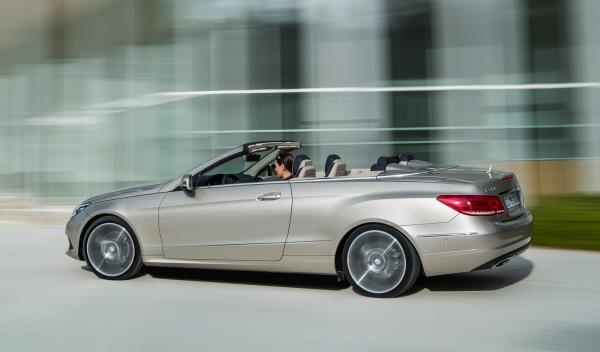Mercedes Clase E Cabrio 2013 lateral