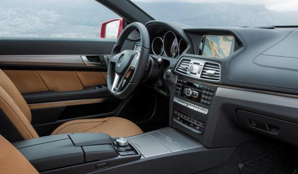 Mercedes Clase E Coupé 2013 interior
