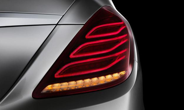 Mercedes Clase S 2013 piloto LED