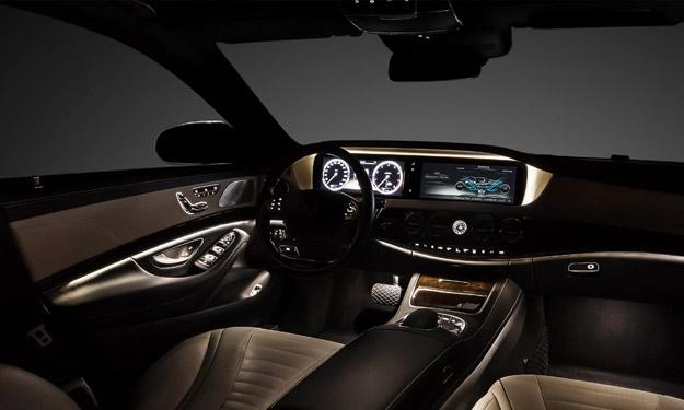Mercedes Clase S 2013 interior LED