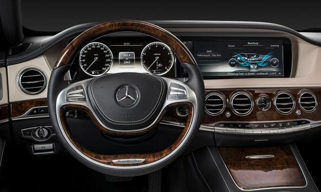 Mercedes Clase S 2013 salpicadero