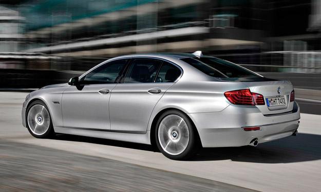 BMW Serie 5 2013 trasera