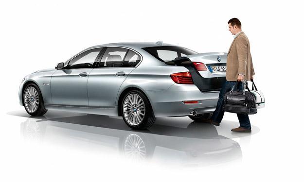 BMW Serie 5 2013 maletero